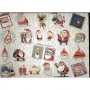 Springbok / Shoebox 500 Piece Puzzle Ho Ho Ho! - Christmas Puzzle Featuring Various Humorous Images Of Santa Claus