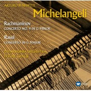 Arturo Benedetti Michelangeli/Philharmonia Orchestra/Ettore Gracias - Rachmaninov:Concerto no.4 in G minor/Ravel:Concerto in G major (CD)