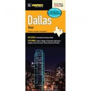 Universal Map Dallas Waterproof Fold Map 25588