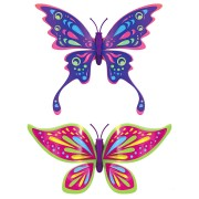 Set 2 bucati Fluturasul magic – Rainbow Wing si Purple Queen - Zuru Toys