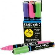 Chalk Magic Liquid Chalk Marker Set (Set of 9 Markers) by Peter Pauper Press Inc