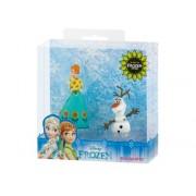 Set figurine Frozen Fever Anna+Olaf