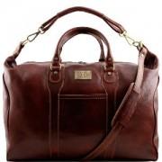 Sac de Voyage Cuir Italie Amsterdam -Tuscany Leather-