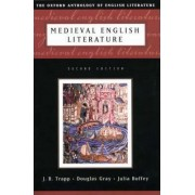Medieval English Literature by J. B. Trapp