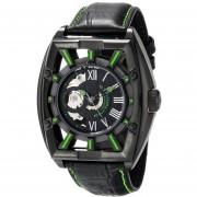 Stuhrling Original Mens 279335571 Xtreme Millennia Expo Analog Display Automatic Self Wind Black Watch
