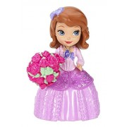 "Flower Girl Sofia ~3"" - Disney Sofia the First Mini-Doll Series: #5 Celebrate with Others"