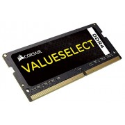 Corsair CMSO8GX4M1A2133C15 SODIMM Memoria DDR4 per Notebook Serie Value Select da 8 GB, 1x8 GB, 2133 MHz, CL15, Nero
