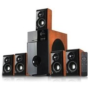 Sistem audio 5.1 Serioux Soundboost HT5100C Cherry Wood