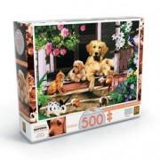 Grow Puzzle 500 peças Bichos na Varanda