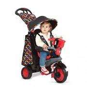 Smart Trike Boutique Bambini Blu Triciclo Passeggino Veicolo Giro
