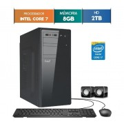 GABINETE EASYPC CORE I7 8GB RAM HD 1TB WIN 10