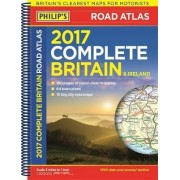 Philip's Complete Road Atlas Britain and Ireland 2017