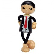 Hape - Modern Family - Wooden Dad Doll
