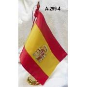 Bandera sobremesa despacho bordada