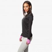 Lotto MOONRIDE LS női futó póló fekete/lila R6846