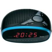 Ébresztőórás rádió Led kijelzővel kék színű ICR-200