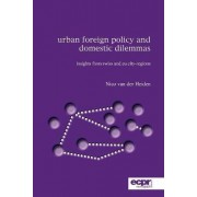 Urban Foreign Policy and Domestic Dilemmas by Nico Van Der Heiden
