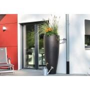 Rezervor de perete pentru apa de ploaie tip 2 in 1 Modern dual-function unit ,culoare Zink Grey 300lt.