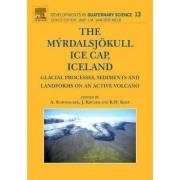 Myrdalsjokull Ice Cap, Iceland by Anders Schomacker