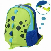 Yodo Upgraded Playful Kids Insulated Lunch Boxes Carry Bag / Preschool Toddler Backpack, with Safety Harness Leash...