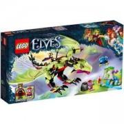 Конструктор Лего Елфи - Злият дракон на краля на гоблините - LEGO Elves, 41183