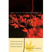 Leaves from an Autumn of Emergencies by Samuel Hideo Yamashita