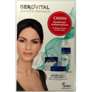 Gerovital H3 Classic crema intensiv hidratanta de zi + Fresh deodorant-antiperspirant