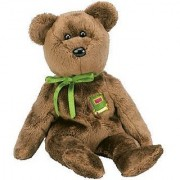 1 X TY Beanie Baby - WILLIAM the Bear (Closed-Book Version - Europe Exclusive) by BabyCentre