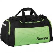 Kempa Sporttasche TEAMLINE - schwarz/fluo grün | S