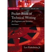 Pocket Book of Technical Writing for Engineers and Scientists by Leo Finkelstein