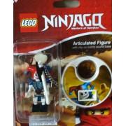 Rare Lego Ninjago KRAZI Articulated Figure with Clip-on Battle Sound Base