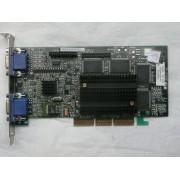 carte video matrox cybershop Matrox Millenium G400 AGP 32MB Dual-VGA pn:G4+MDH4A32G