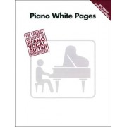 Hal Leonard Piano White Pages
