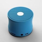 Boxa Portabila Metalica Cu Conexiune Wireless Albastra
