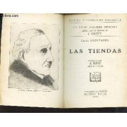 Las Tiendas / Collection D'auteurs Espagnols - Cultura Y Literatura Hispanicas.