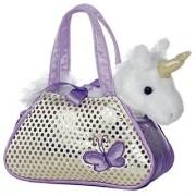 Hamleys Fancy Pal Unicorn Purple - 8 inch