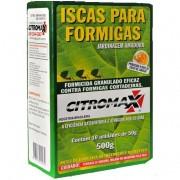 ISCA PARA FORMIGA CITROMAX - 500gr (10 un. de 50gr)