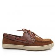 Sapato DockSide Masculino Jovaceli em couro 1100