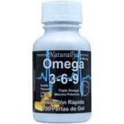 Triple Omega 3-6-9 100 Perlas