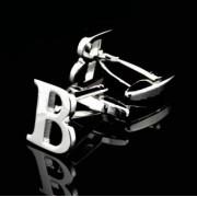 Manžetové knoflíčky písmeno B