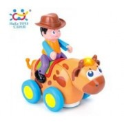 Bull Rider Western Battery Operated Bucking Bull Toy