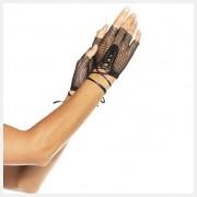 fingerlose Netz-Handschuhe mit Schn