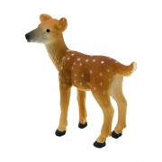 Mojo Fun 387036 White Tailed Deer Fawn - Realistic Forest / Countryside Wildlife Toy Replica
