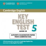 Cambridge Key English Test 5 Audio CD: Test 5 by Cambridge ESOL
