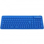 Tastatura Esperanza Silicon USB EK126B Blue