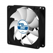 """FAN FOR CASE ARCTIC """"F9 PWM PST"""" 92x92x25 mm, w/ PWM & cablu PST, low noise FD bearing (AFACO-090P0-GBA01)"""