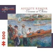 Pierre Auguste Renoir - Oarsmen at Chatou: 500 Piece Puzzle