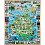 White Mountain Puzzles Key West - 1000 Piece Jigsaw Puzzle