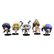 Queens Gate: New Puchitto! Trading Figures (Box of 8 Blind Boxes) (japan import)