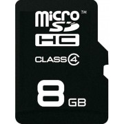Card de memorie Emtec ECMSDM8GHC4, microSDHC, 8GB, Clasa 4 + Adaptor SD